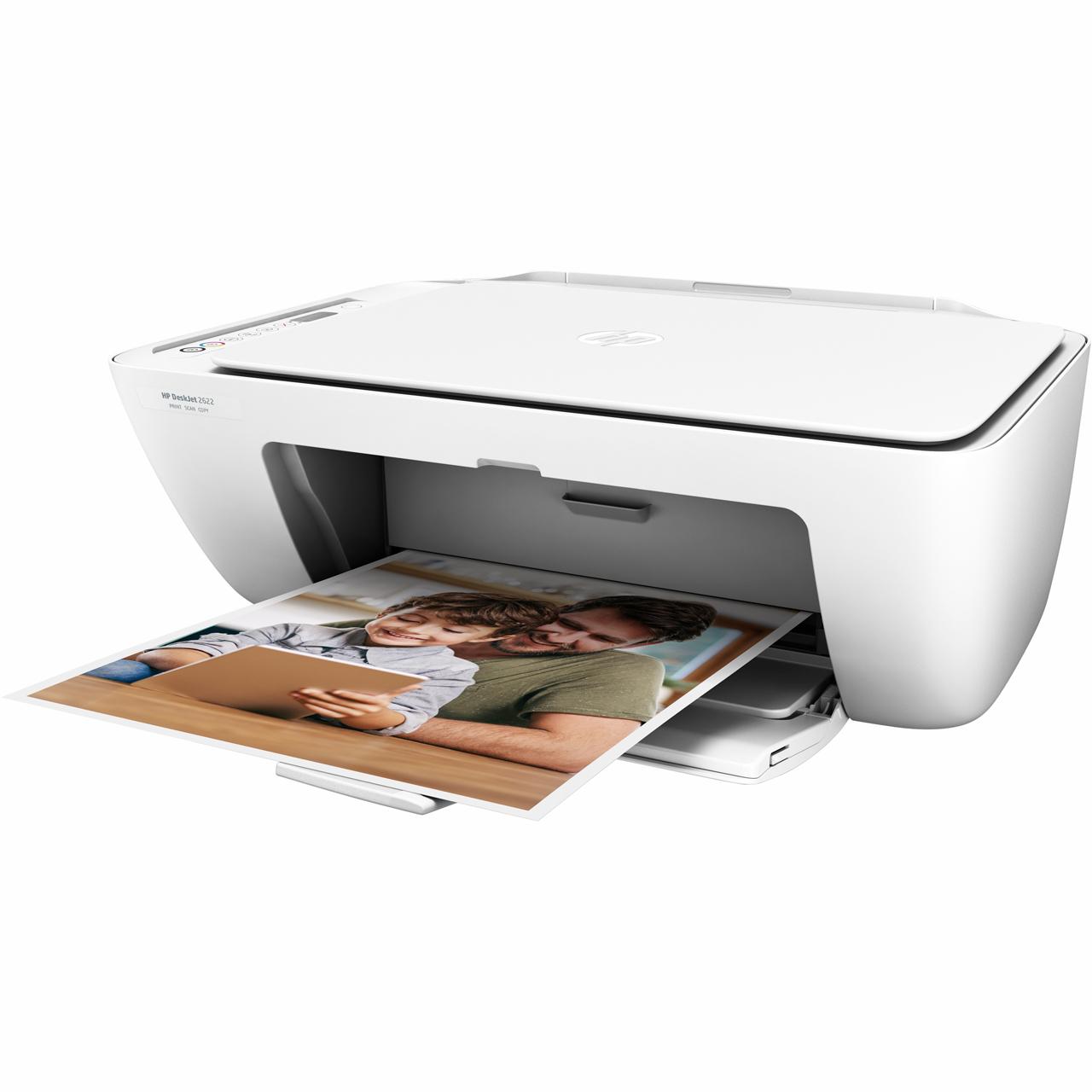 HP DeskJet 2622 Inkjet all-in-one printer in white for £26.10 delivered (using code) @ AO