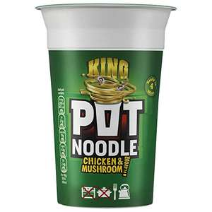 King pot noodle 114g (chicken & Mushroom, beef & tomato and oriental curry) £0.75 @ Morrisons Daily