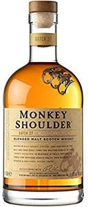 Monkey Shoulder Blended Malt Whisky, 70 cl £21 @ Amazon