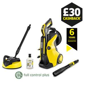 Karcher K5 Premium Full Control Plus Home with patio cleaner, 6 year warranty & £30 cashback £349.99 at Cleanstore