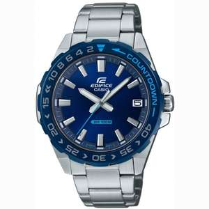 Casio Edifice Men's Analogue Quartz Watch with Stainless Steel Strap, £51.98 at TK Maxx