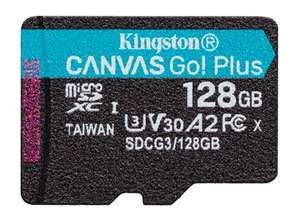 Kingston Canvas Go! Plus 128GB Class 10 Micro SD UHS-I, U3, V30, A2,170MB/s R, 90MB/s W (Life time Warranty) - £20.30 Delivered @ Cclonline