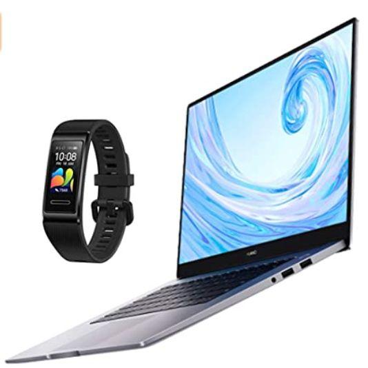 HUAWEI MateBook D 15 2020 + Huawei Band 4 Pro - Graphite Black £599.99 @ Amazon