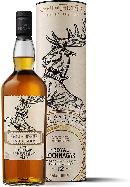 Royal Lochnagar 12 Year Old Single Malt Scotch Whisky 70cl (GoT Edition) - £26.95 @ Amazon