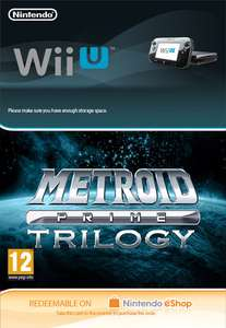 Metroid Prime Trilogy Wii U Digital Edition - £13.85 @ ShopTo