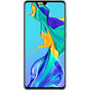 Huawei P30 - 3 month contract £340 max - (as low as £135 after cashback) @ O2