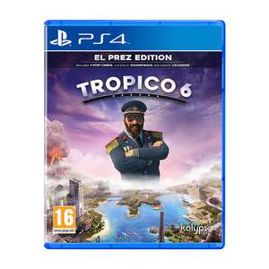 Tropico 6: El Prez Edition (PS4 / Xbox One) £19.99 Delivered @ GAME