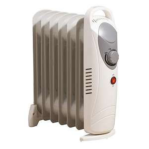 Dunelm Mill 700w oil filled radiator - £12.50 + £3.95 Delivery