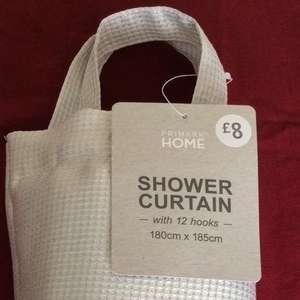 Silver Shower Curtain @ Primark Plymouth £3