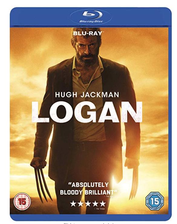 Logan Blu-Ray - Amazon £4.99 (Prime) / £7.99 (non Prime) at Amazon