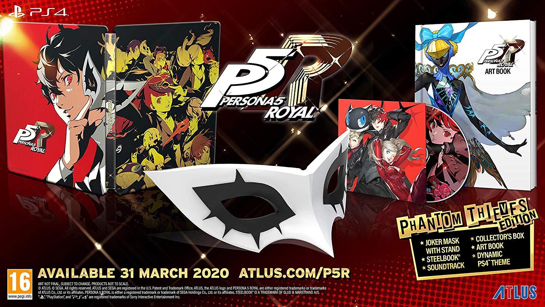 Persona 5 Royal Phantom Thieves Edition PS4 £79.99 @ Amazon