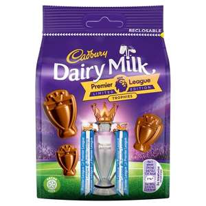Cadbury Dairy Milk Premier League Trophy Candy Bags - 59p each @ Quality Save Prestwich in-store