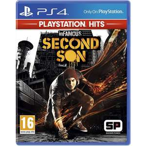 InFamous: Second Son - PlayStation Hits (PS4) - £7.95 delivered @ The Game Collection