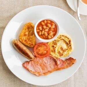 6 item breakfast £1 (Monday to Friday until 11am) @ Ikea