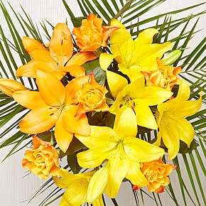 Aztec Sun Bouquet £21.24 with free Delivery with code from Serenata Flowers