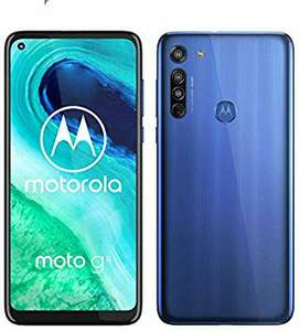 Motorola Moto G8 64GB Smartphone - 4000mAh Battery /Snapdragon 665 £182 (G8 Power With Free Charger £206) @ Amazon Germany
