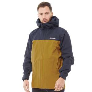 Mens Berghaus Chombu 2 Layer Hydroshell Elite Shell Jacket Now £79.99 sizes S, L, XL, 2XL @ M&M Direct