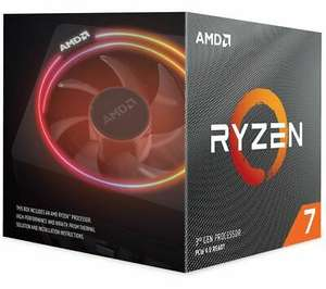 Ryzen 7 3700X Gen3 8 Core AM4 CPU/Processor with Wraith Prism RGB Cooler, £256.50 with code Currys / ebay