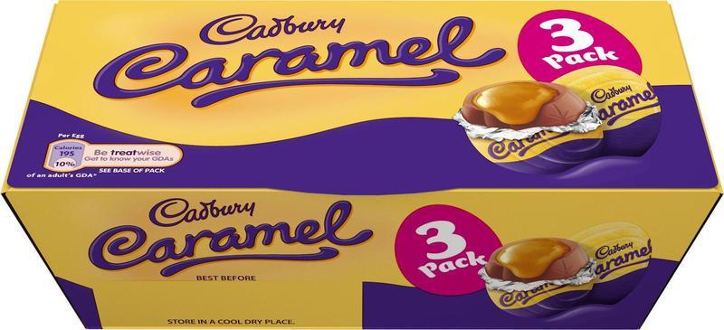 Cadbury Caramel Egg 3 pack 99p National @ Lidl