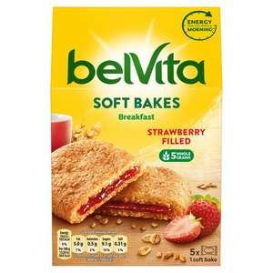 Belvita Soft Filled Strawberry Biscuits & Filled Chocolate Biscuits 250g
