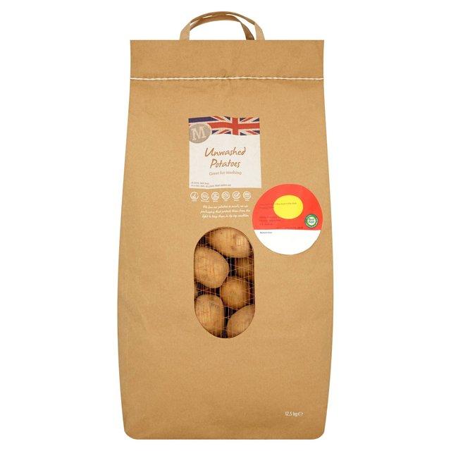 12.5 kg Unwashed Potatoes £5 @ Morrisons