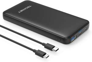 Tecknet 10000mAh 18W usb c power bank £12.99 - Sold by BLUETREE and Fulfilled by Amazon. (+£4.49 Non-prime)
