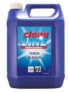 Cleanline Thick Bleach 5 Litre £3.99 @ Ryman (Free Click & Collect)