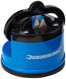 Silverline 270466 Tabletop Blade & Knife Sharpener with Suction Base 60 x 65 x 60mm £4.19 Delivered @ Ardmillan Trading Limited via Amazon