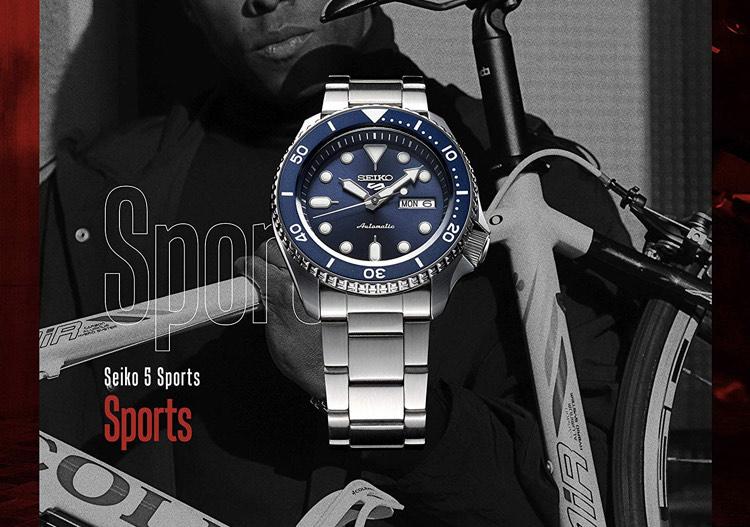Seiko 5 Sports Automatic Watch £175.95 @ Amazon