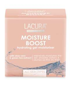 **Online NOW**/In Store 22 March: Lacura Moisture Boost Gel Moisturiser 50ml-Compares To Clinique £4.99 In Store+Online @ Aldi-Others In OP