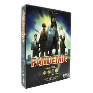 Pandemic Co-Operative Board Game £23.99 @ ZatuGames Collect (or +£3 P&P)