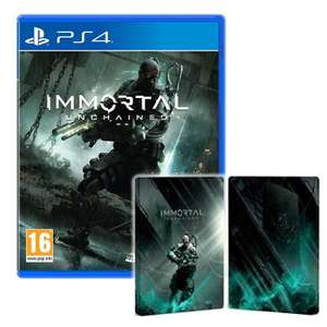 Immortal: Unchained & Limited Edition Steelbook [PS4] £8.95//[Xbox] £9.95 Delivered @ The Game Collection