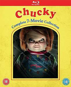 CHUCKY: Complete 7-Movie Collection (BD) [Blu-ray] £25.89 @ Amazon
