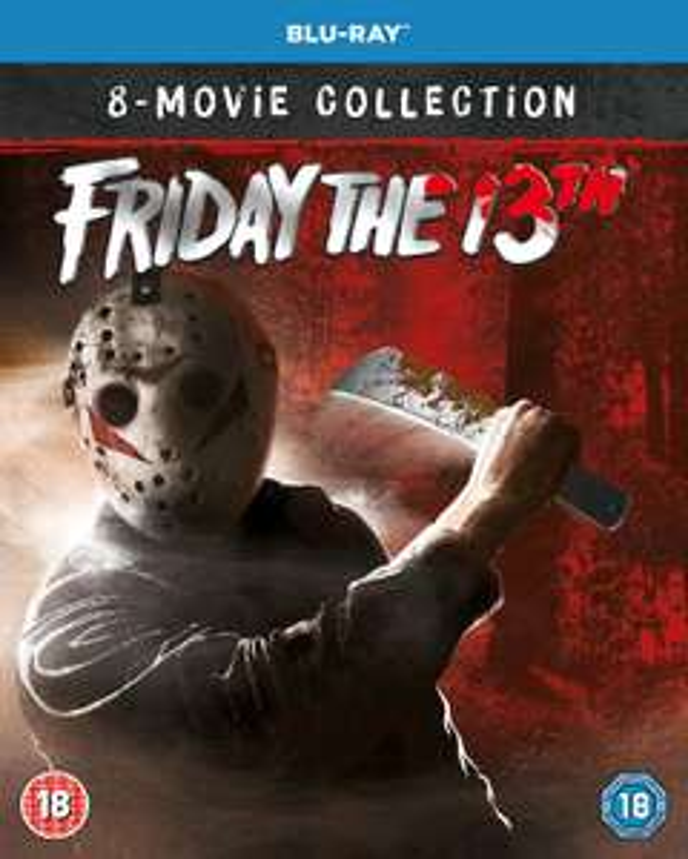 Friday the 13th 1-8 Boxset Collection [Blu-ray] [2019] [Region Free] £20.99 Amazon