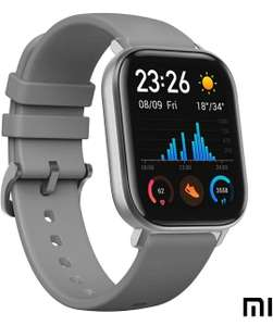 Amazfit GTS Smartwatch aluminum case, grey, Amoled display €100.05 / £92.10 @ Amazon.DE