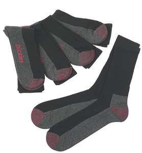 Dickies Cushion Crew Socks Black Size 7-11 (5 Pack) - £6.39 + Free Click & Collect @ Screwfix