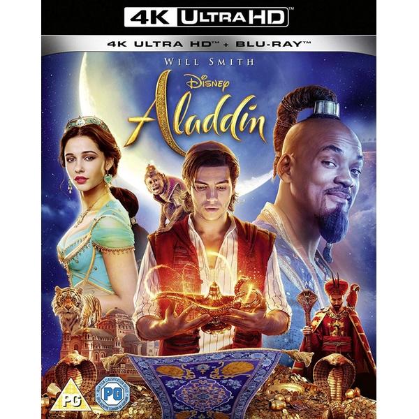 Aladdin (2019) 4K UHD + Blu-ray (Disney) £7.49 @ 365games.co.uk