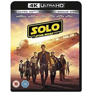 [4K UHD Blu-ray] Solo: A Star Wars Story/Avenger Assemble - £6.49/Avengers Collection 1-3 for £7.49- Delivered @ 365games