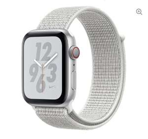 APPLE Watch Series 4 Cellular - Silver with Summit White Nike Sport Band, 44 mm - £319 @ Currys PC World