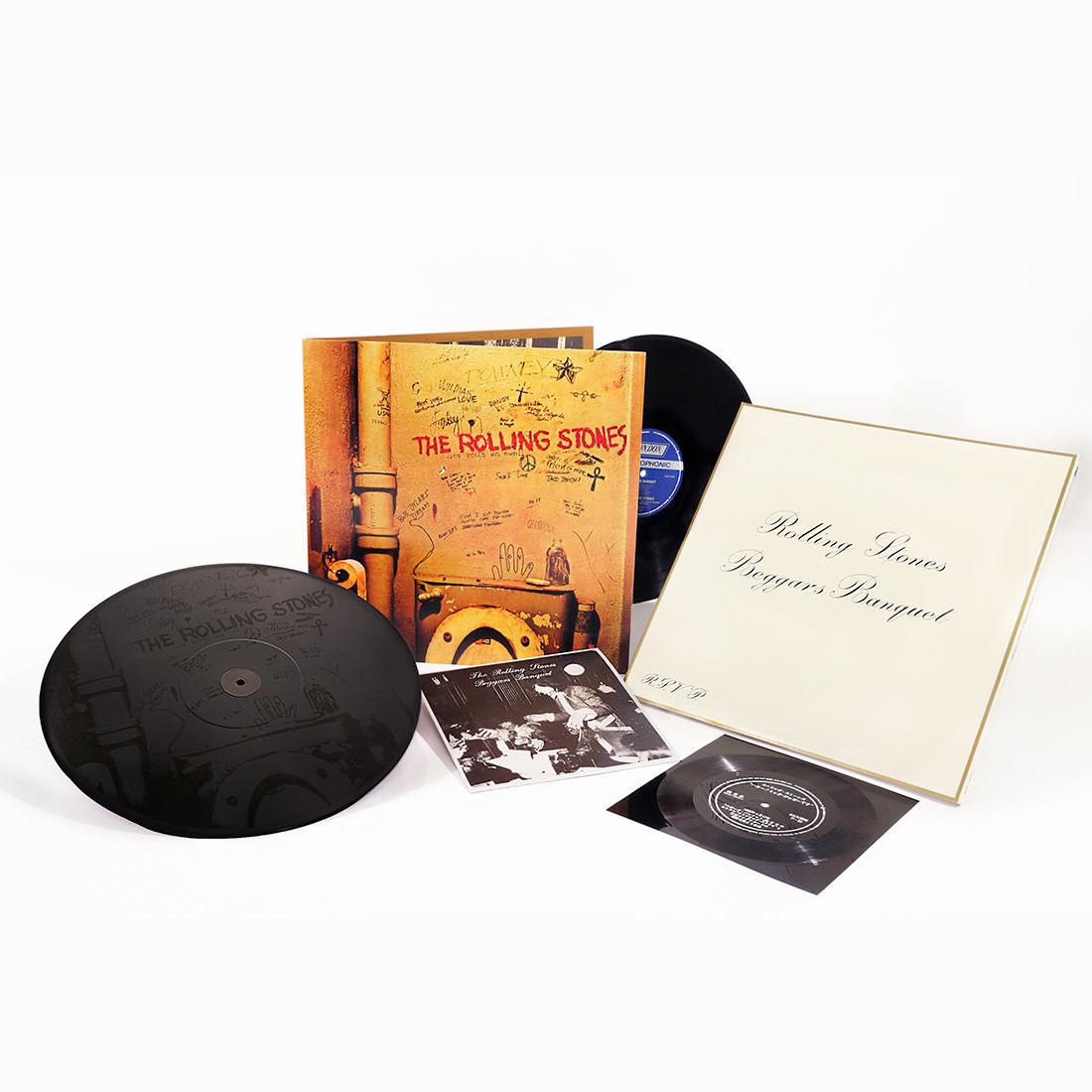 "The Rolling Stones - Beggars Banquet [VINYL] Limited Edition Flexi-disc, 7"" vinyl, Box Set £17.99 (Prime) / £20.98 (non Prime) at Amazon"