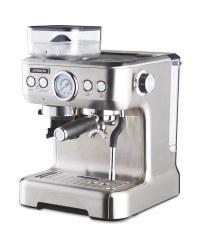 Ambiano Espresso Maker & Integrated Grinder for £299.99 delivered @ Aldi