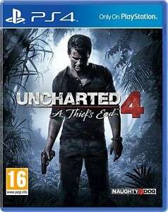 Uncharted 4: A Thiefs End PS4 £9.65 delivered at evergameuk eBay
