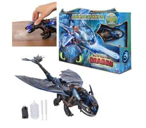 Dragons 6045436 DreamWorks Giant Toothless 20 Inch Fire Breathing Effects and Bioluminescent Colour £14.99 Prime/£19.48 Non Prime at Amazon
