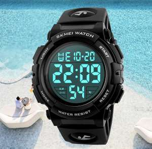 Mens Digital Sports Military Watch - £9 Prime / +£4.49 non Prime Sold by Pretty Watch and Fulfilled by Amazon