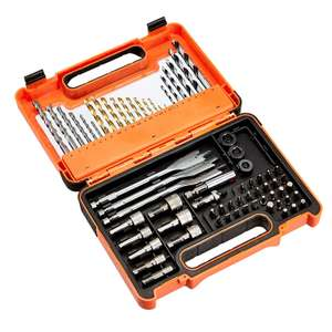 AmazonBasics Multi-Bits Set for Drill & Driver Accessory Kit, 71 Pieces £23.37 delivered at Amazon