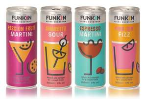 Funkin Nitro Cocktails 200ml cans 79p at Home Bargains Binnacle Way, Portsmouth