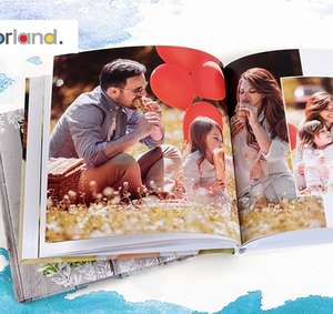 Colorland Personalised Square Hardcover Photo Book 20Cmx20Cm With 28 Pages £3.99 @ Groupon (£5.99 Postage & Delivery)