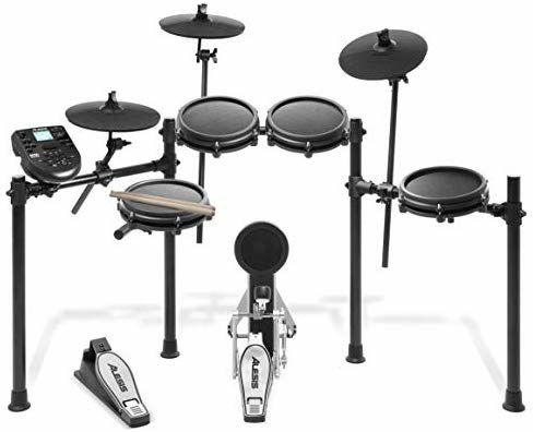 Alesis Drums Nitro Mesh Kit - Eight Piece Mesh Electric Drum Set £299 @ Amazon