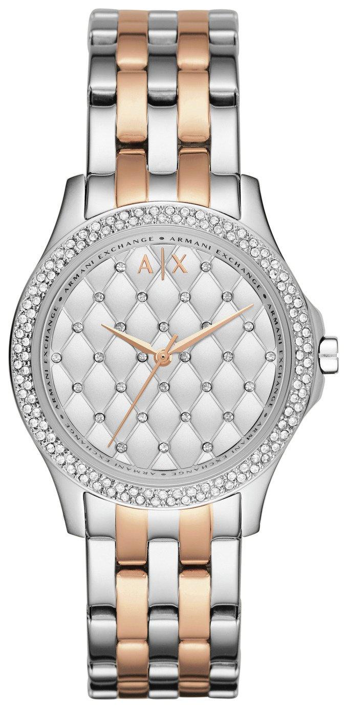 Armani Exchange Ladies Silver and Rose Gold Bracelet Watch £89.99 @ Argos