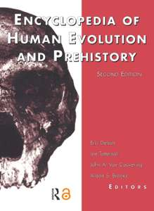 Encyclopedia of Human Evolution and Prehistory, Second Edition - 802 Pages free Amazon kindle book